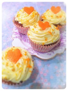 Cherie Kelly's Carrot Cupcakes