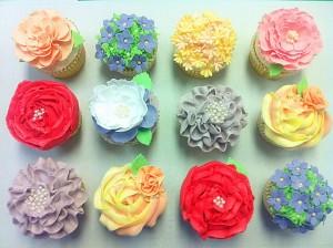 Cherie Kelly's Buttercream Vanilla Cupcakes