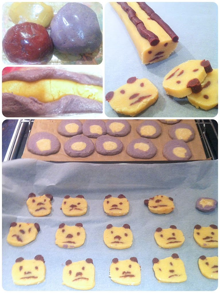 Penguin Lion And Panda Icebox Cookies Cherie Kelly