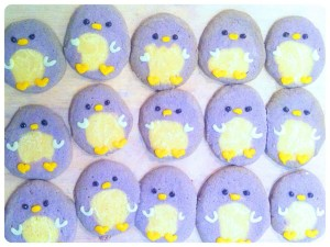 Cherie Kelly's Penguin, Lion and Panda Icebox Cookies