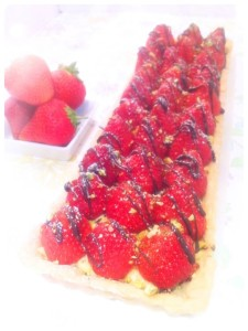 Cherie Kelly's Strawberry Tart