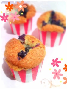 Cherie Kelly's Blueberry Muffins