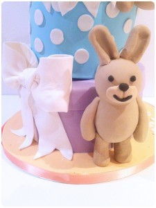 Cherie Kelly's Bunnies Topsy Turvy Cake