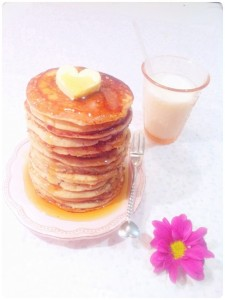 Cherie Kelly's Fluffy American Buttermilk Pancakes