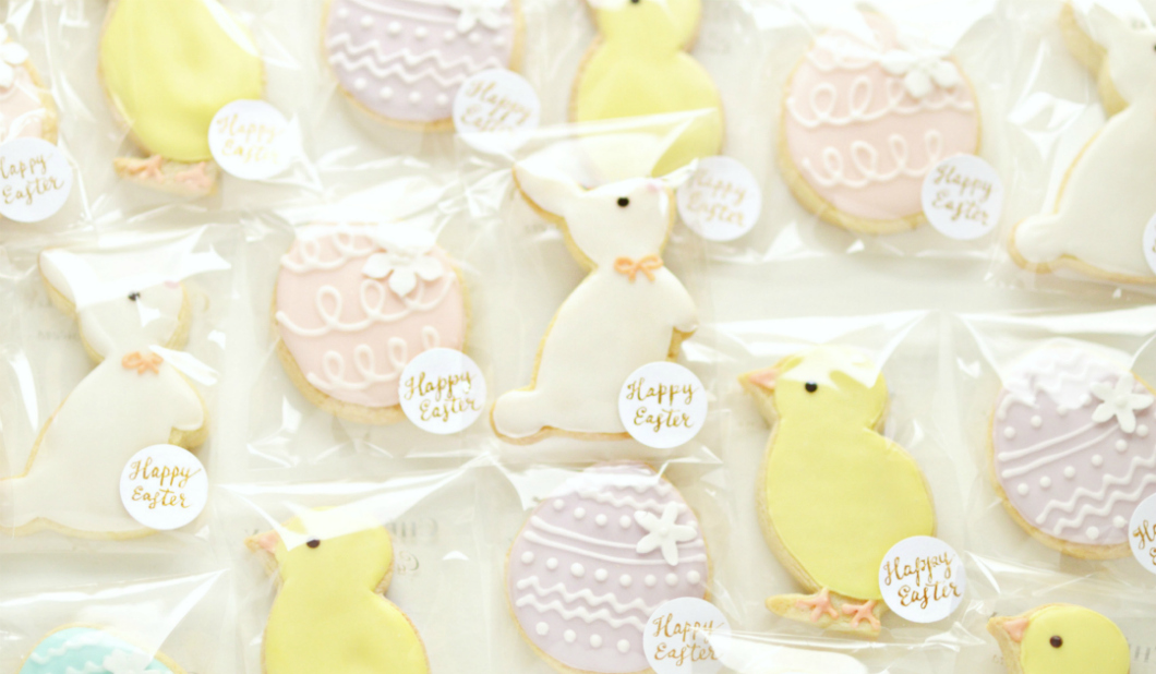 Happy Easter Cookie Treats Cherie Kelly London