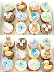 Baby Boy Shower Cupcakes Cherie Kelly London