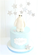 Baymax Big Hero 6 Birthday Cake London Cherie Kelly