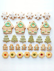 Beautiful Christmas Cookies Cherie Kelly London