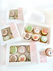 Christmas Cupcake Gift Box Cherie Kelly London