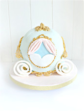 Cinderella Pumpkins Carriage Birthday Cake Cherie Kelly London