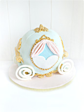 Cinderella Pumpkins Carriage Coach Birthday Cake Cherie Kelly London