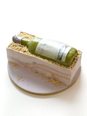 Cloudy Bay Sauvignon Blanc White Wine Bottle and Crate Birthday Cake Cherie Kelly London