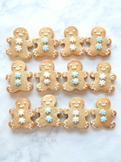 Cute Christmas Gingerbread Cookies Cherie Kelly London