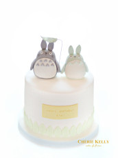Cute Totoro Birthday Cake Cherie Kelly London