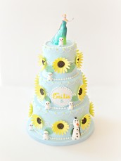Elsa Frozen Fever Cake Sunflower Cherie Kelly London
