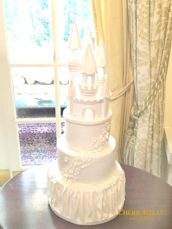 Fairy Tale Princess Castle Wedding Cake Cherie Kelly London