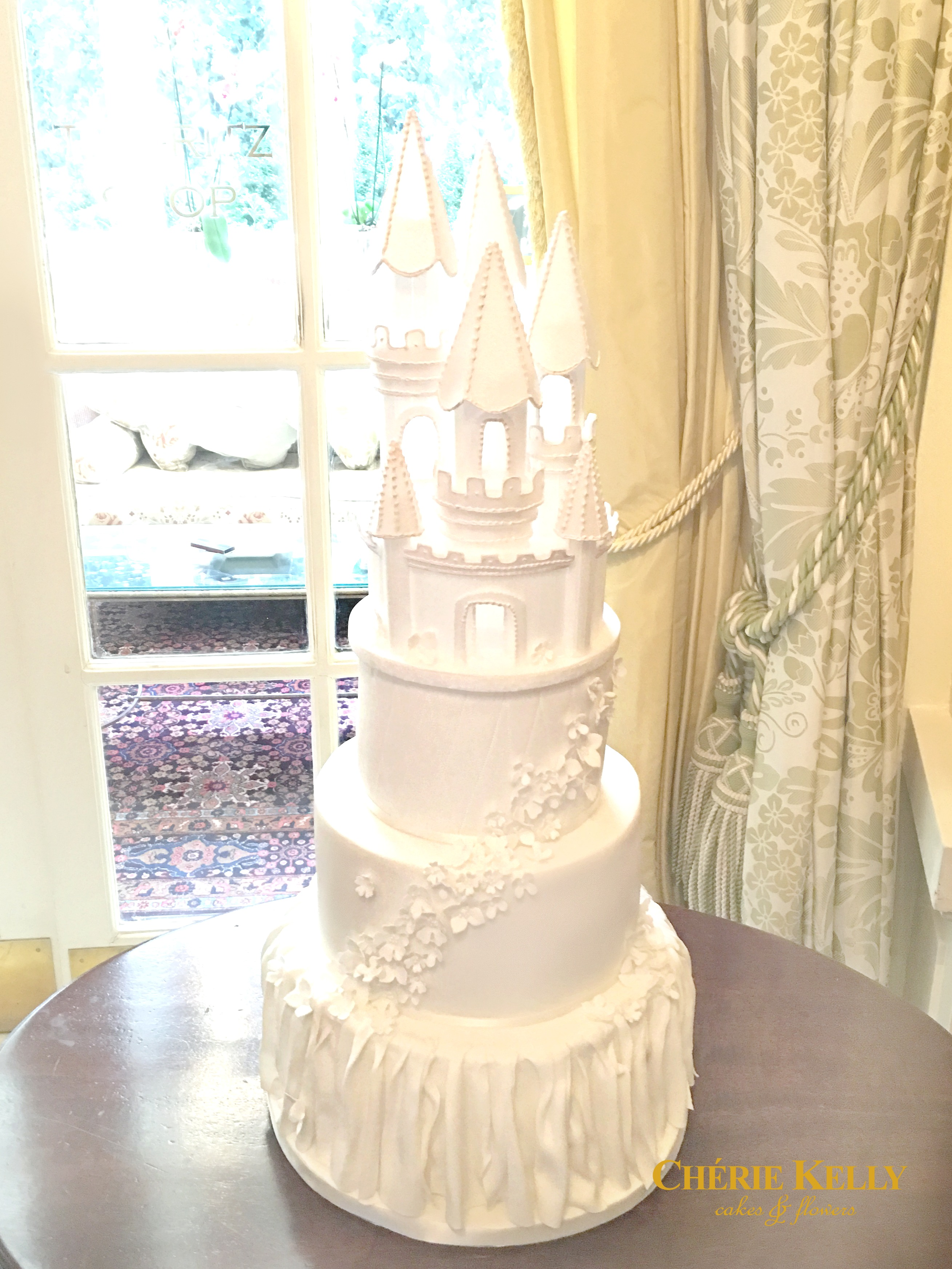 Fairy Tale Princess Castle Wedding Cake Cherie Kelly London