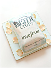 Kettle Chips Crisps Cake Cherie Kelly London