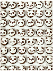 Mini Panda Chocolate Cupcakes with Marshmallow Frosting Cherie Kelly Cake London