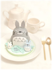 Mini Totoro Birthday Cake Cherie Kelly London