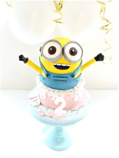 Minion Bob Birthday Cake London