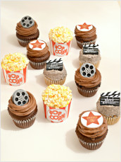 Movie Themed Cupcakes
