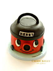 Numatic Henry Vacuum Cleaner Cake Cherie Kelly London