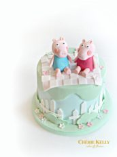 Peppa Pig Picnic Birthday Cake Cherie Kelly London
