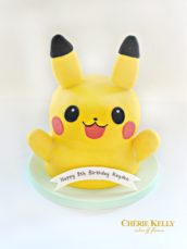 Pokemon Go Pikachu Birthday Cake Cherie Kelly London