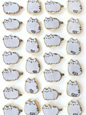 Pusheen Cat Cookies Cherie Kelly London