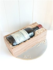 Red Wine and Crate Birthday Cake Domaine de la Romanee-Conti Echezeaux Grand Cru