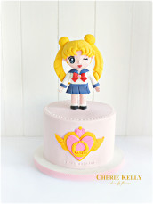 Sailor Moon Cake Cherie Kelly London