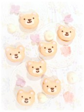 Teddy Bear Chocolate Macarons Cherie Kelly Cake London