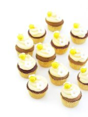 Bee honey cupcakes Cherie Kelly cakes London