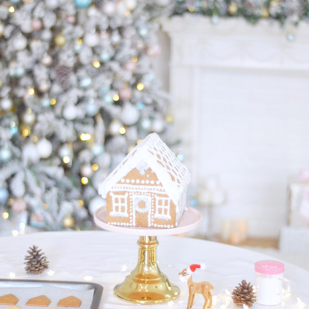 Ginerbread House Christmas Cookies Cherie Kelly cakes London