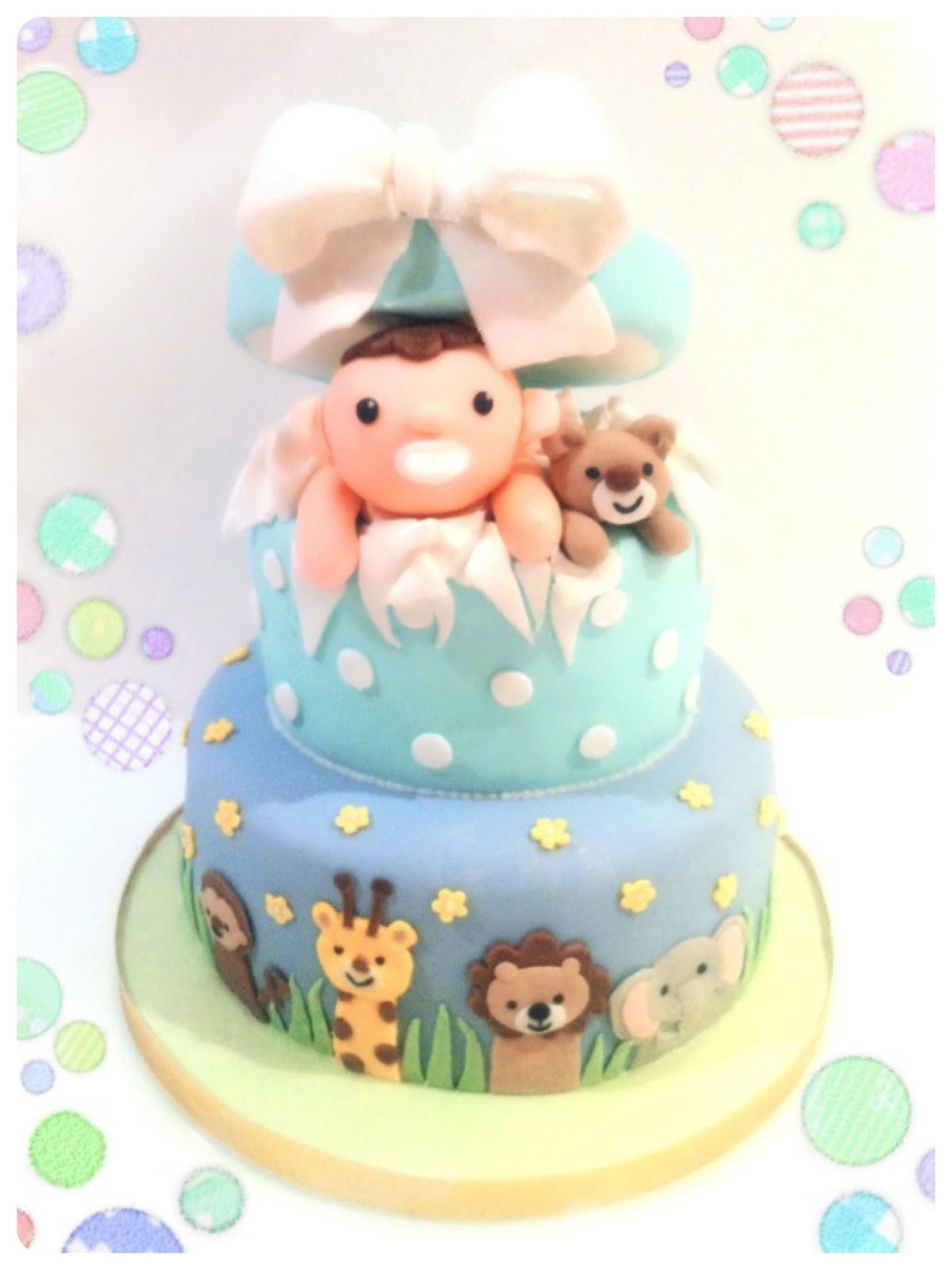 Baby Boy Shower Cake London Cherie Kelly