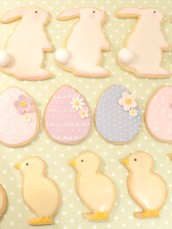 Cherie Kelly Easter Rabbit and Cookies Cherie Kelly Cake London