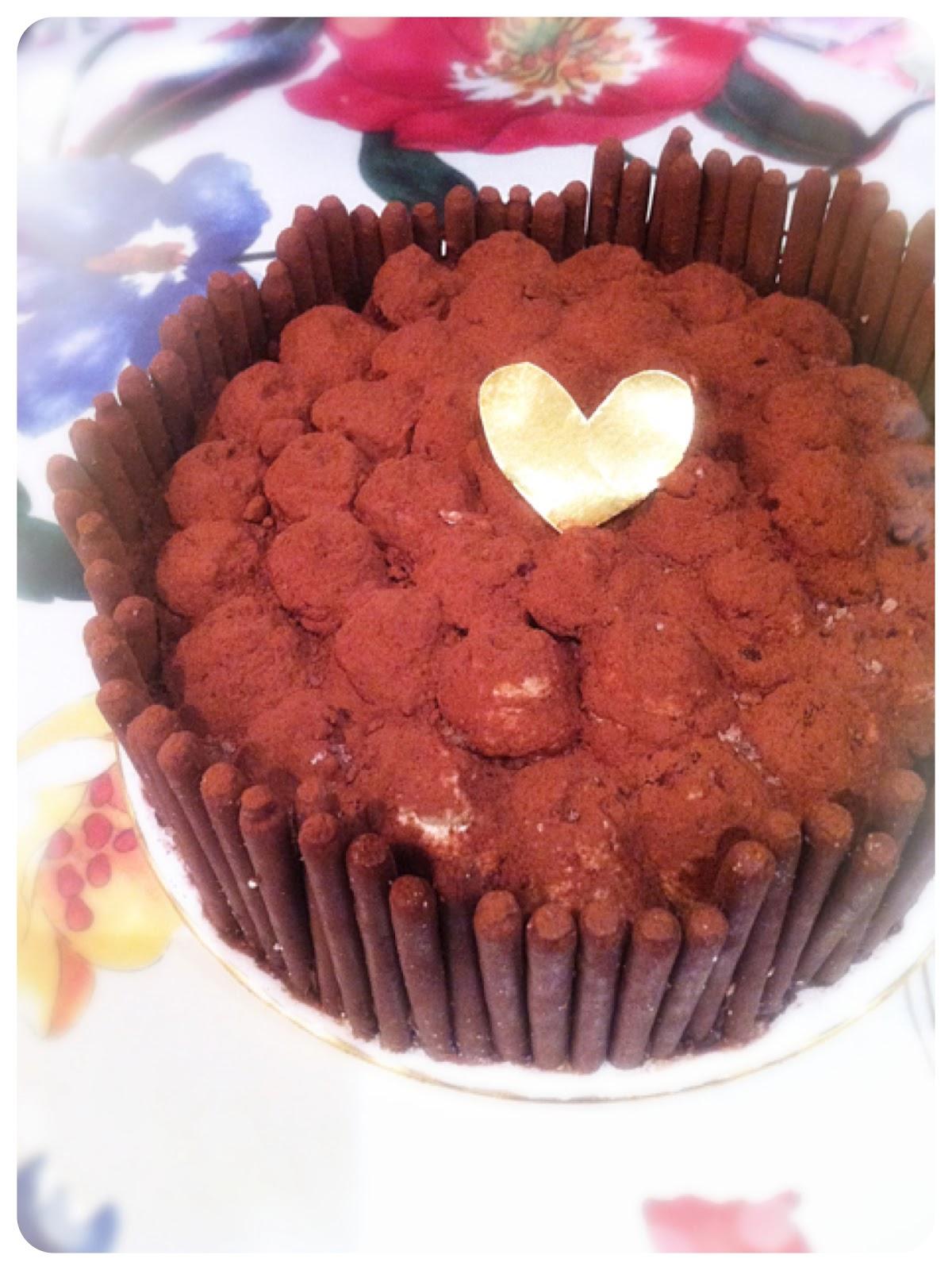 Chocolate Tiramisu Cake Birthday Cake London Cherie Kelly