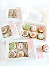 Christmas Cupcake Gift Box Cherie Kelly London