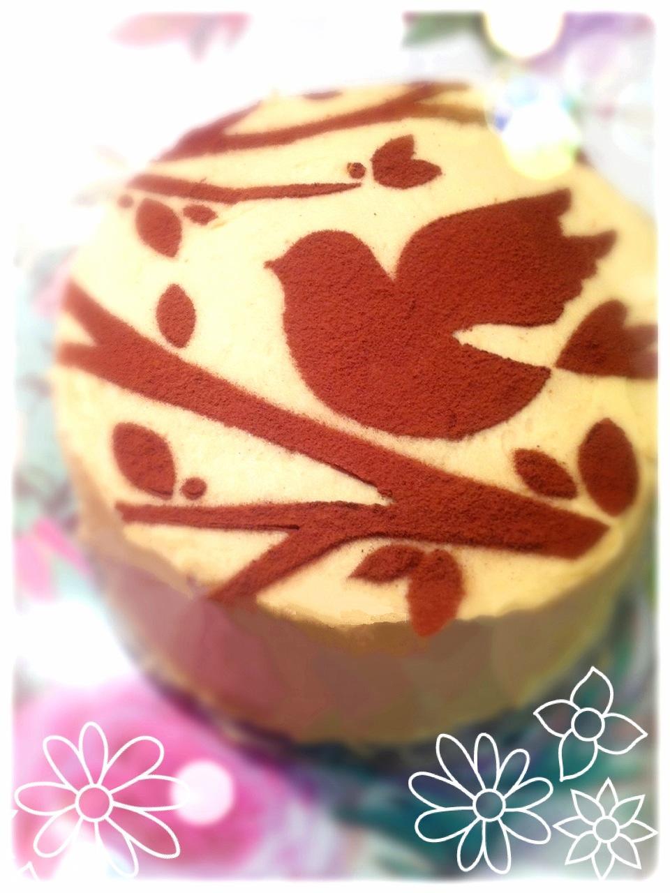 Coffee and Walnut Birthday Cake London Cherie Kelly
