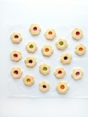 Cute Christmas Linzer Jelly Cookies Cherie Kelly London