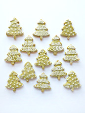 Cute Matcha Green Tea Christmas Tree Cookies Cherie Kelly London