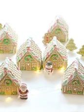 Gingerbread House Cookies Village Cherie Kelly London