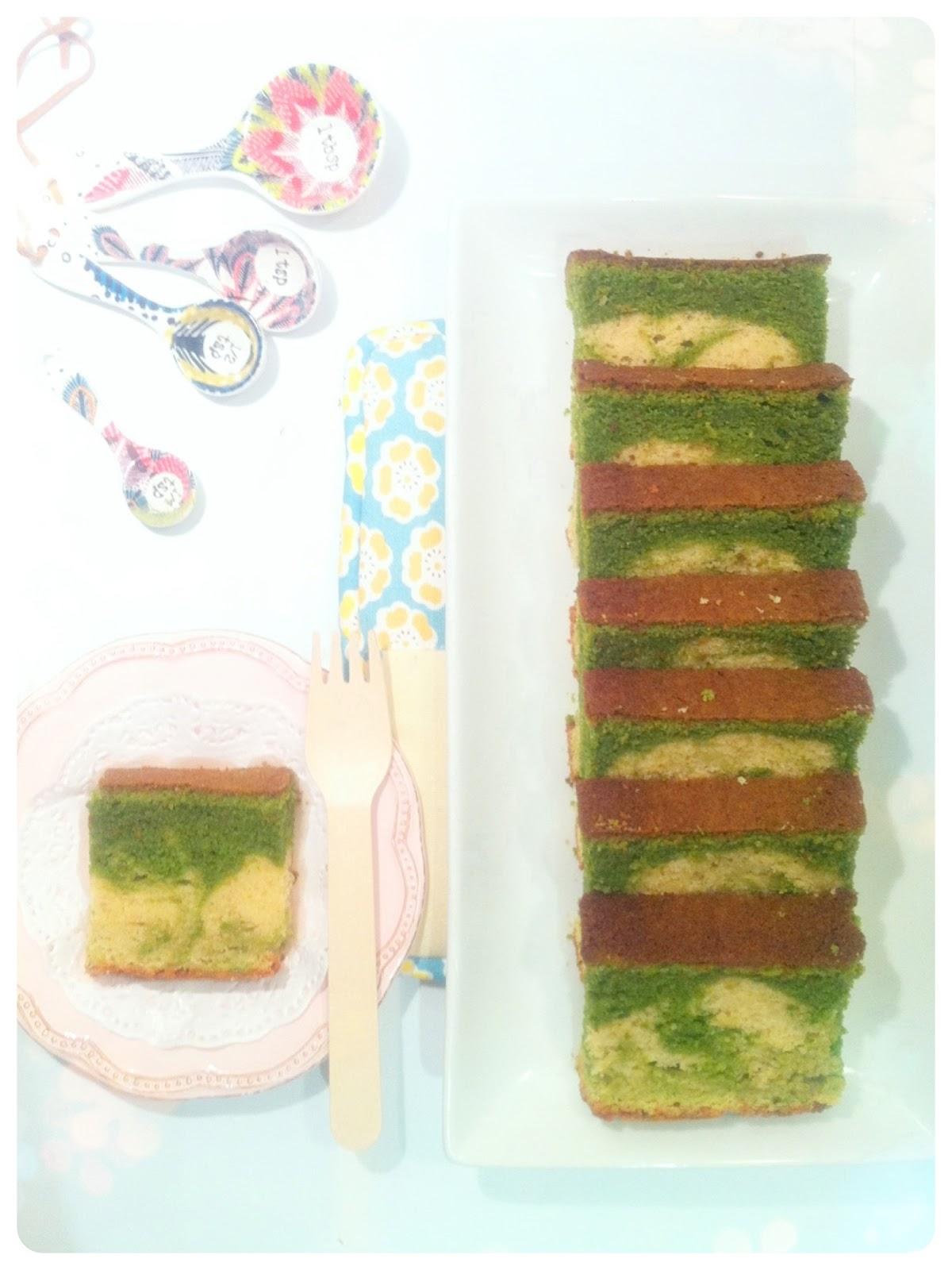 Matcha Green Tea Marble Cake Birthday Cake London Cherie Kelly