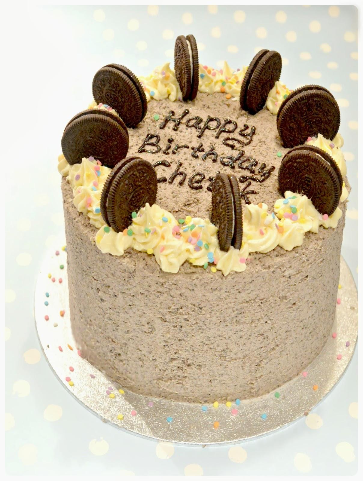 Most Popular Oreo Birthday Cake London Cherie Kelly