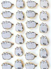 Pusheen Cat Cookies Cherie Kelly London
