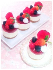 Raspberry Cheesecake Cherie Kelly Cake London