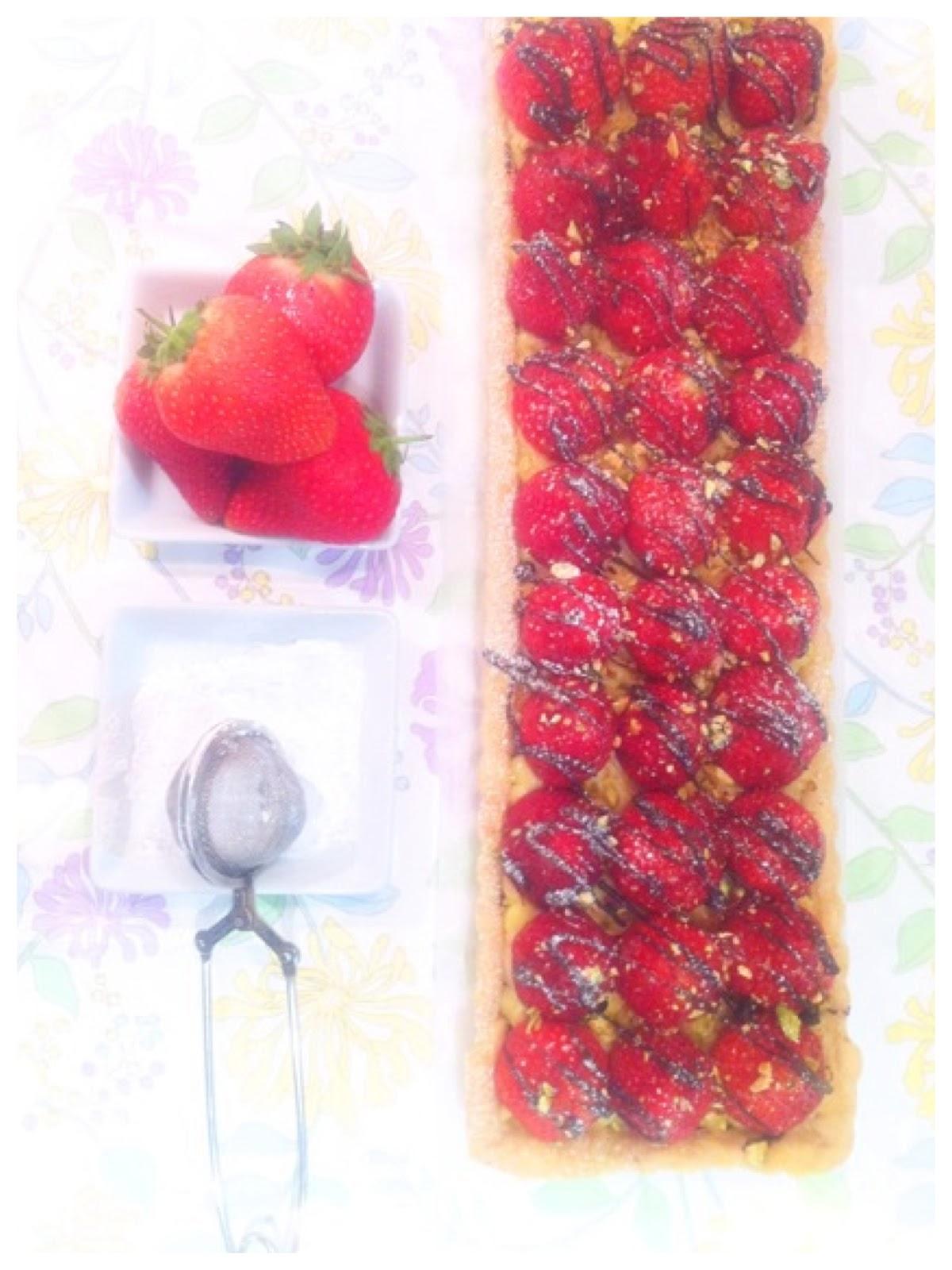 Strawberry Tart Cherie Kelly Cake London