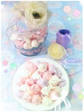 Vanilla Meringue Kisses Cherie Kelly Cake London