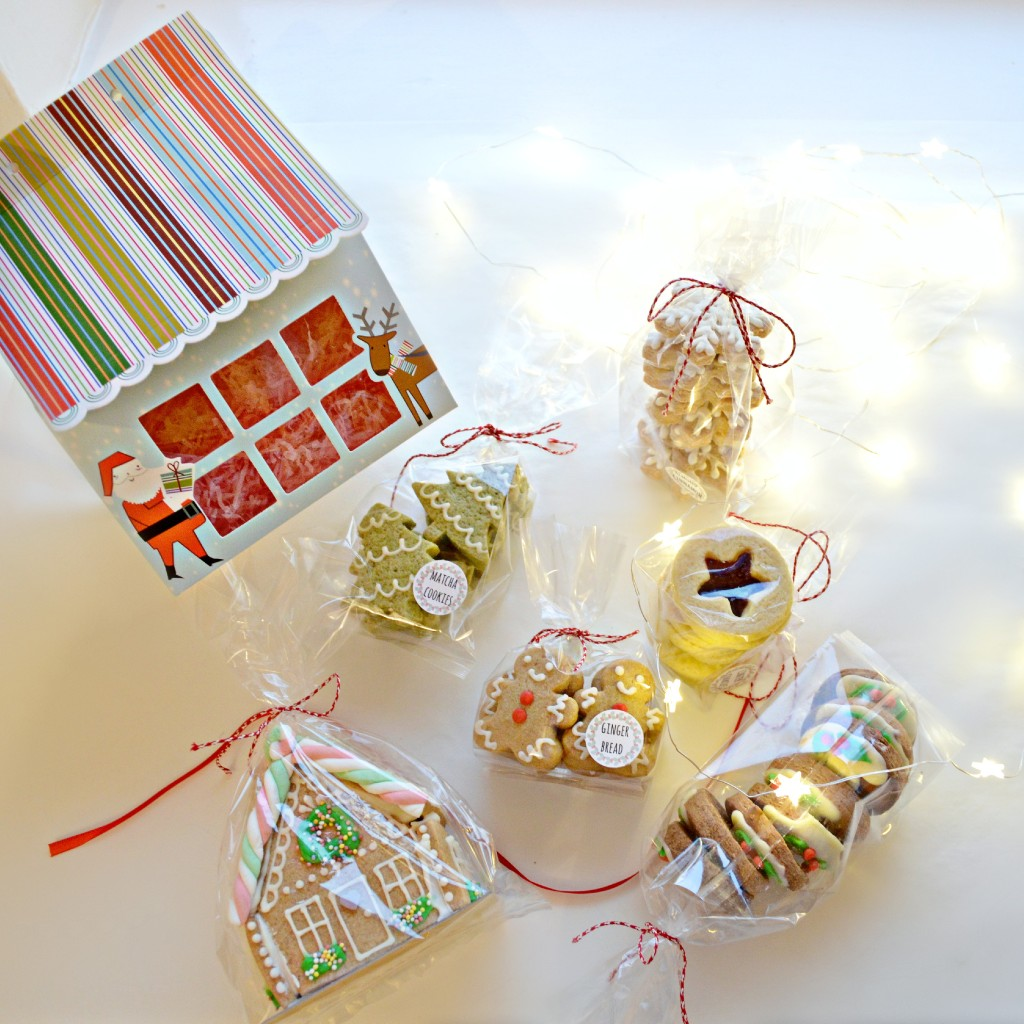 Christmas Cookies Gift Box Cherie Kelly London